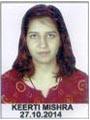 Keerti Mishra PU-053171404A
